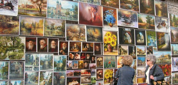 Krakow---Opere-d'arte-di-artisti-di-strada.jpg